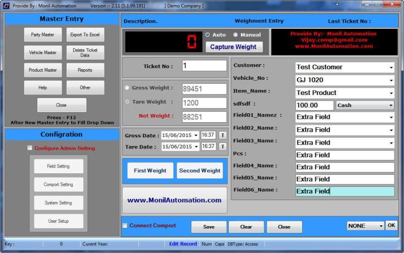 Weighbridge Software Free 5.1.99.191 full